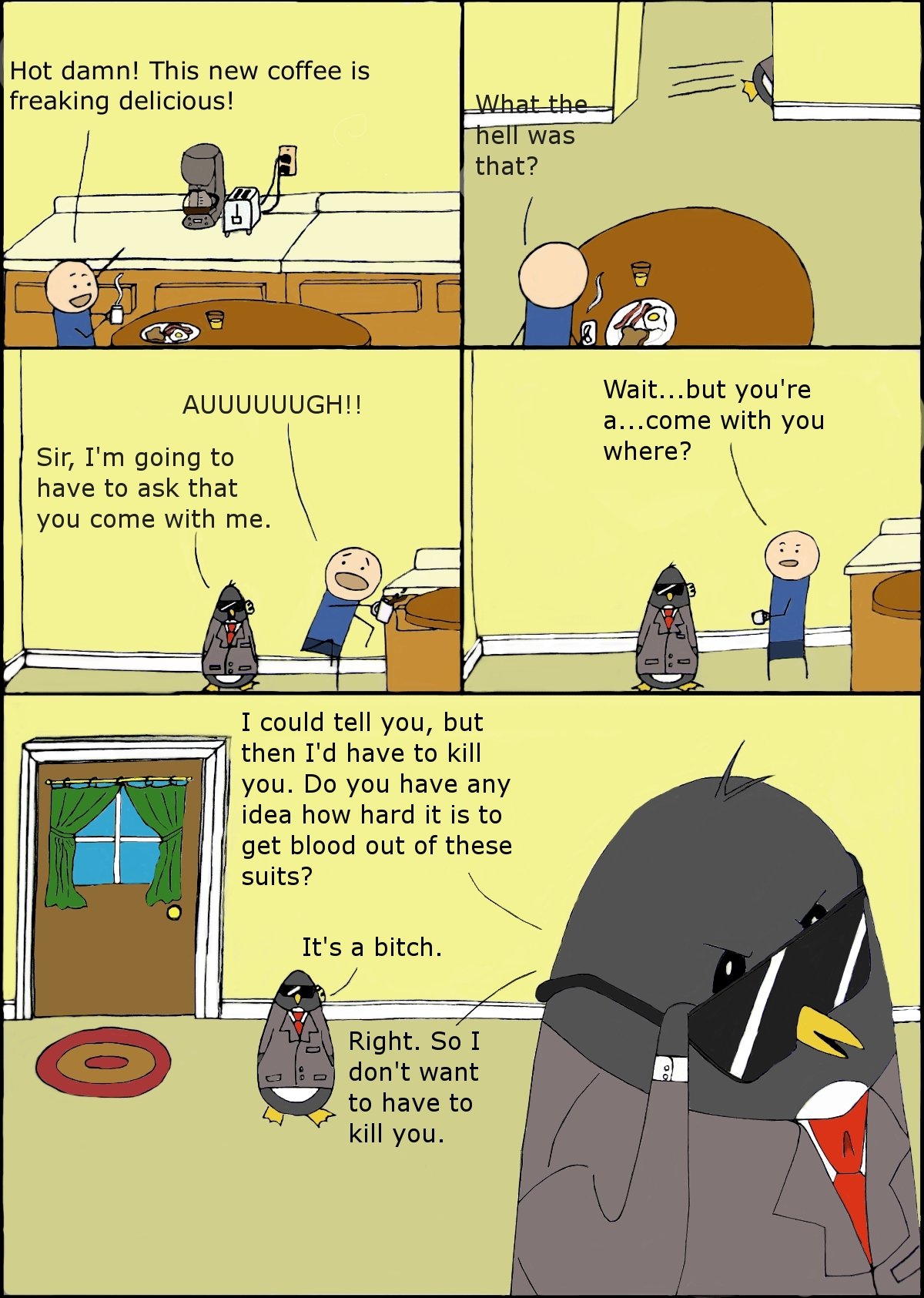 Penguins! Pt. 1